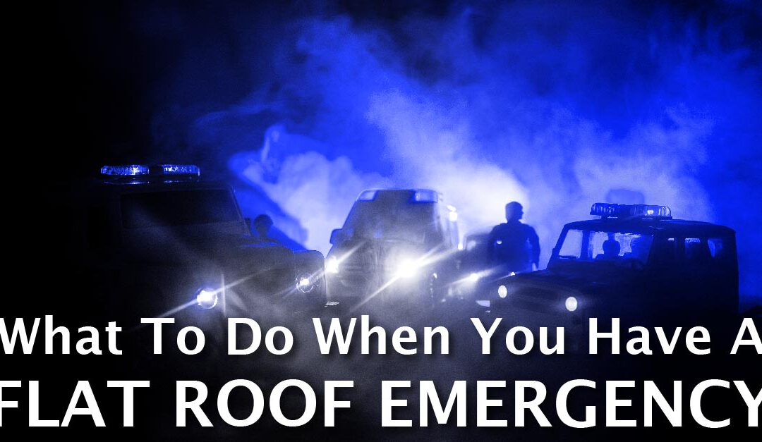 What To Do When You Have A Flat Roof Emergency
